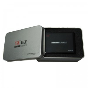 An all in one card reader